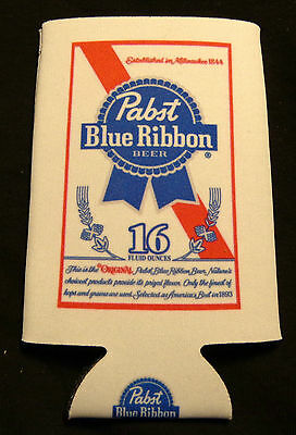 Pabst Blue Ribbon Beer Can Coozy - Koozy - Coozie...Fits 16 Ounce Can...NEW