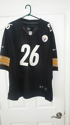 Pittsburgh Steelers Leveon Bell Authentic Nike On Field Jersey XXL Black  26 f6b7342c3