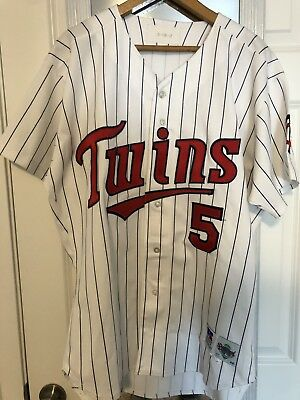 1d7338a445b MINNESOTA TWINS GAME Used 1996 Jersey Size 46 Roberto Kelly - $75.00 ...