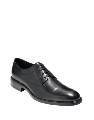 ab36444c NEW NWB COLE Haan Hartsfield Cap Toe Leather Oxfords Shoes Mens 9 M ...