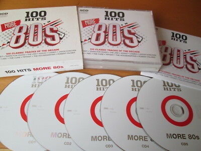 100 HITS MORE 80S 5-Cd: Tiffany Colonel Abrams Jam Falco Soft Cell Nr Mint