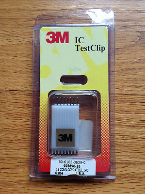 3M IC Test Clip 16 Pin NEW!