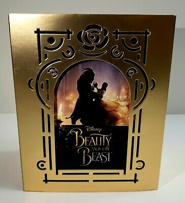 BEAUTY AND THE BEAST [BLUFANS] 1-CLICK EMPTY BOX  NO STEELBOOKS / Blu-ray Discs