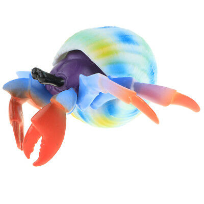 Realistic Hermit Crab Animal Model Role Play Figure Figurine Toys