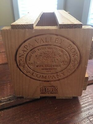 Napa Valley Wooden Box Company CD Disc Box