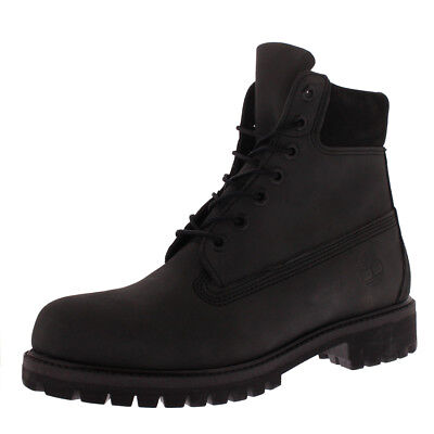 0f43267fdbc7 Mens Timberland 6 Inch Premium Dark Grey Waterproof Nubuck Ankle Boots UK 6 -12