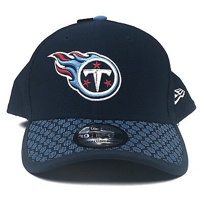 super popular c4174 bc8a3 NEW New Era Tennessee Titans Cap 39Thirty Stretch Fit On Field 2017  Sideline Hat