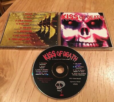 Kiss Of Death Tribute CD morpheus descends killing addiction nokturnel equinox