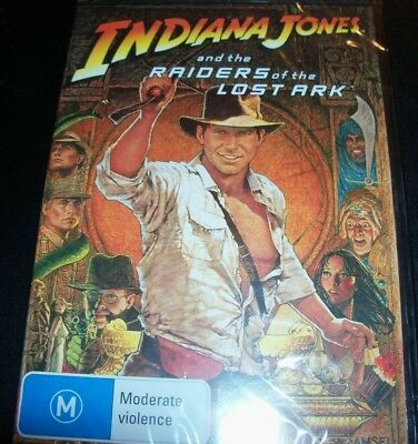 Indiana Jones And The Raiders Of The Lost Ark (Harrison Ford)(Aust R 4) DVD NEW