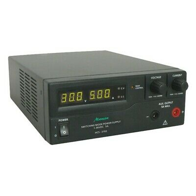 MANSON 1-36Vdc 5A Remote Programmable Switchmode Power Supply