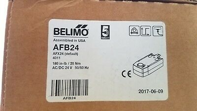 BELIMO AFB24 180in-lb/Nm 24VAC/DC 50/60HZ 2 position actuator