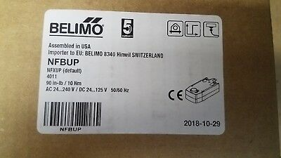 BELIMO NFBUP 24VAC UP TO 240VAC 90in-lb/10Nm
