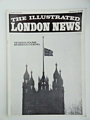 The Illustrated London News - Saturday January 30, 1965 Sir Churchill death