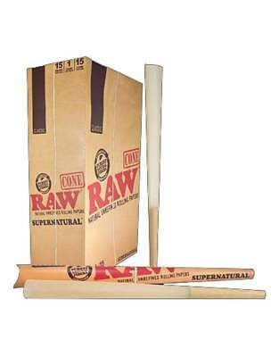 RAW Classic Supernatural Cone - 3 PACKS - Challenge 12 Inches Foot Long - FAST