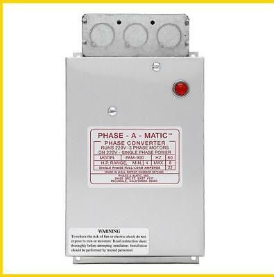 Pam-900 -  3-5 Hp - 220 Vac - Phase-A-Matic Phase Converter