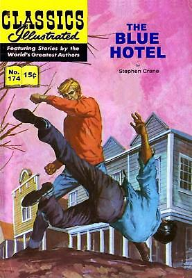 CLASSICS ILLUSTRATED  EUROPEAN TRANSLATED TO ENGLISH - No.174 - THE BLUE HOTEL