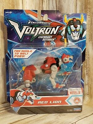Voltron Legendary Defender Red Lion Figure 2017 - New *DreamWorks* Netflix