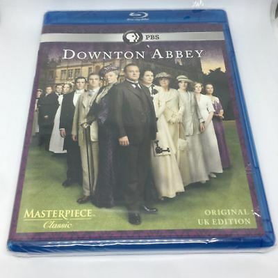 NEW Downton Abbey Blu-ray 2 Disc Set Original UK Edition PBS Masterpiece Classic
