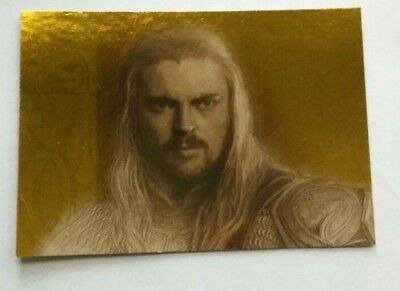 Lord Of The Rings  Masterpieces 2 Gold Parallel Card