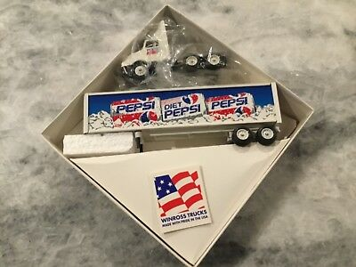 Winross Die Cast Diet Pepsi diecast tractor trailer new in box