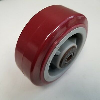 "5"" x 2"" Polyurethane Wheel for Advance Casters or Equipment"
