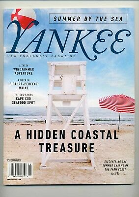 Yankee Magazine July/August 2018 - Farm Coast / Cape Cod / Homesteading + More