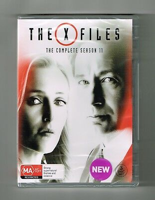 The X-Files : Season 11 Dvd 3-Disc Set Brand New & Sealed