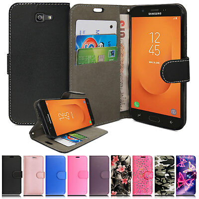For Samsung Galaxy J7 Prime 2 (2018) G116 Luxury Flip Leather Wallet Case Cover