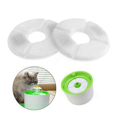 Pet Water Fountain Replacement Filters for Dogs Cats Drinking Flower 4 Pcs