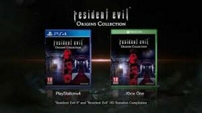 Resident Evil Origins Collection  Pal España Ps4 Xbox One  Nuevo Castellano