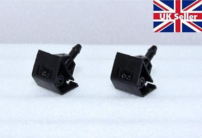 2X  Front Windscreen Washer Jet nozzles For Nissan Qashqai 08- 2014 Windshield