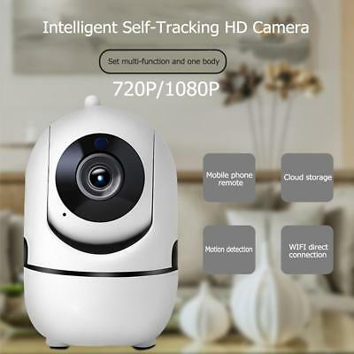 WLAN WiFi IP Kamera Motion-Tracking-Stimme Gegensprechanlage Monitor IR Webcam