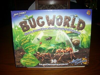 John Adams - Bug World - 30 Fun And Fascinating Projects - Ages 8+