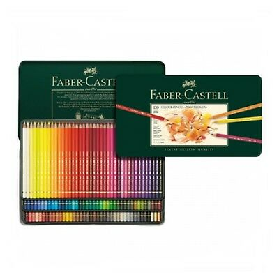 Faber-Castell Polychromos Pencils Oil Based Set of 120 Assorted Colors Tin Case