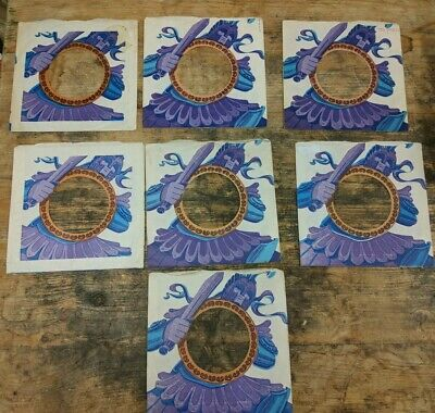 original 7 x TROJAN REGGAE RECORDS company SEVEN sleeveS variations ..