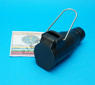 8 Pin Flying Socket for Extension Leads for use with Trailer with a Reverse Lamp