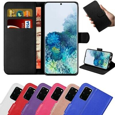 Case for Samsung Galaxy S20 S10 S9 S8+ Cover Flip Wallet Leather Magnetic Luxury