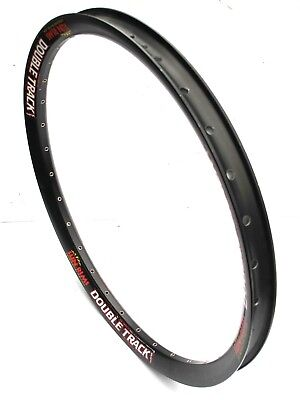 """Sun Rims Double Track SL1 26/"""" 32H SV Double Wall Disc Only Rim Black NEW//OEM"""