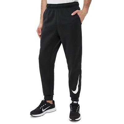 Nike Pantalone Therma Tapered 932257-010 Nero