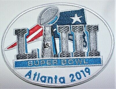NFL Super Bowl LIII - 53 Patriots  2019 -limited edition Iron-on Patch