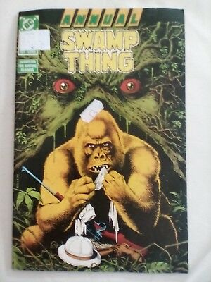 SWAMP THING ANNUAL # 3 (DC Comics, BRIAN BOLLAND COVER, 1987),FINE CONDITION