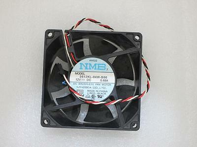 New NMB Cooling Fan 3612KL-04W-B66 12V 0.68A DC Fan With Connector