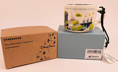 Disney's Hollywood Studios You Are Here Starbucks 2 Oz Demitasse Ornament