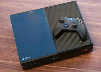 Microsoft Xbox One Black Console WITH 5 Games And Two Controllers