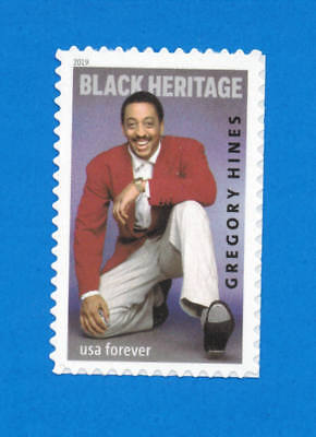 US Gregory Hines Stamp, a SINGLE (1 Forever Stamp), MNH 2019