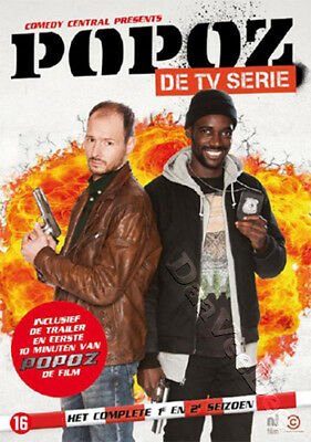 Popoz: Filthy Cops (Complete Seasons 1 & 2) NEW PAL Cult 2-DVD Set Huub Smit