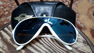 8ec4422f58 Vintage Ray Ban Bausch   Lomb Wings Aviator White Sunglasses w Case Frame  France