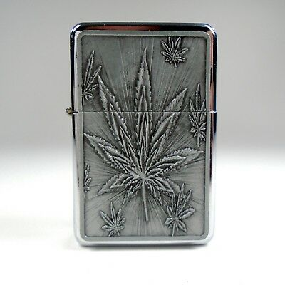 Flip Top Lighter Chrome Refillable Windproof Unfilled - FREE SHIPPING