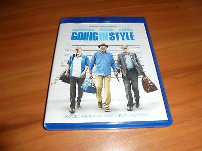 Going In Style (Blu-Ray/DVD 2017 Widescreen) Used Morgan Freeman,Michael Caine