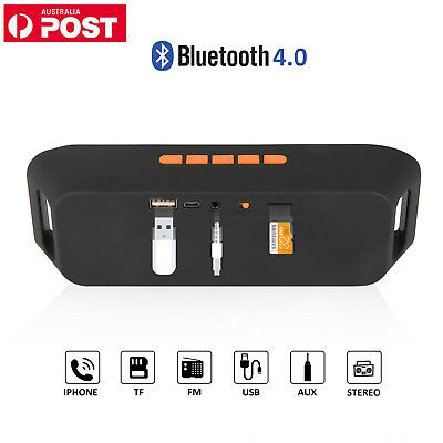 Wireless Bluetooth Speaker with Dual HD &Bass Sound &Mic Microphone TF Card Slot
